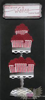 Cup Cake Stand Card