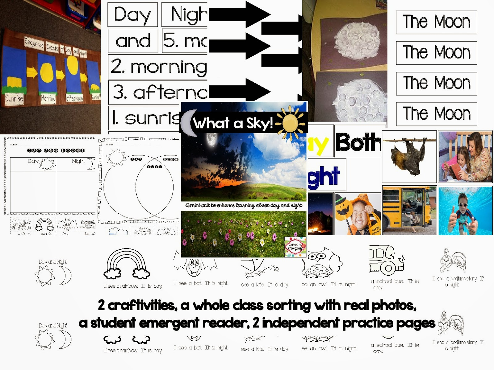 https://www.teacherspayteachers.com/Product/What-a-Sky-A-mini-unit-to-enhance-learning-about-day-and-night-1620279
