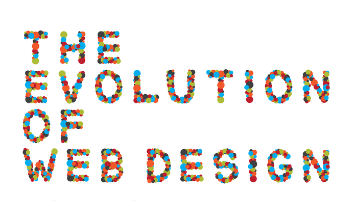 The Evolution of Web Design - #infographic