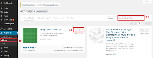 Cài Plugin Google News Sitemap