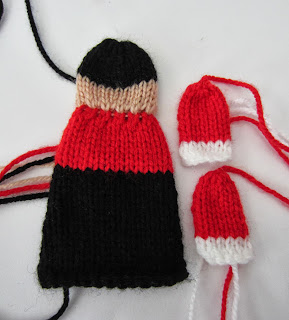Knitting Increase Stitch Purlwise : Justjen-knits&stitches: Toy Soldier Christmas Ornament - Knitted