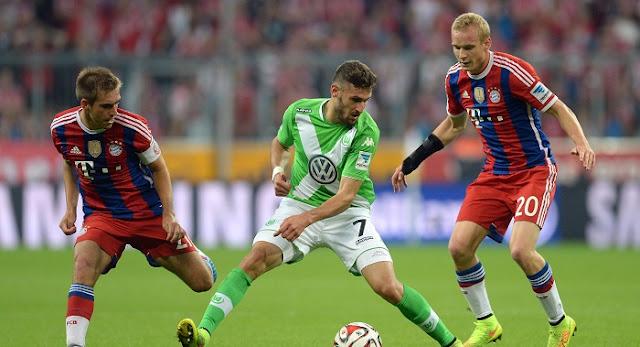 Wolfsburgo vs Bayern Munich en vivo