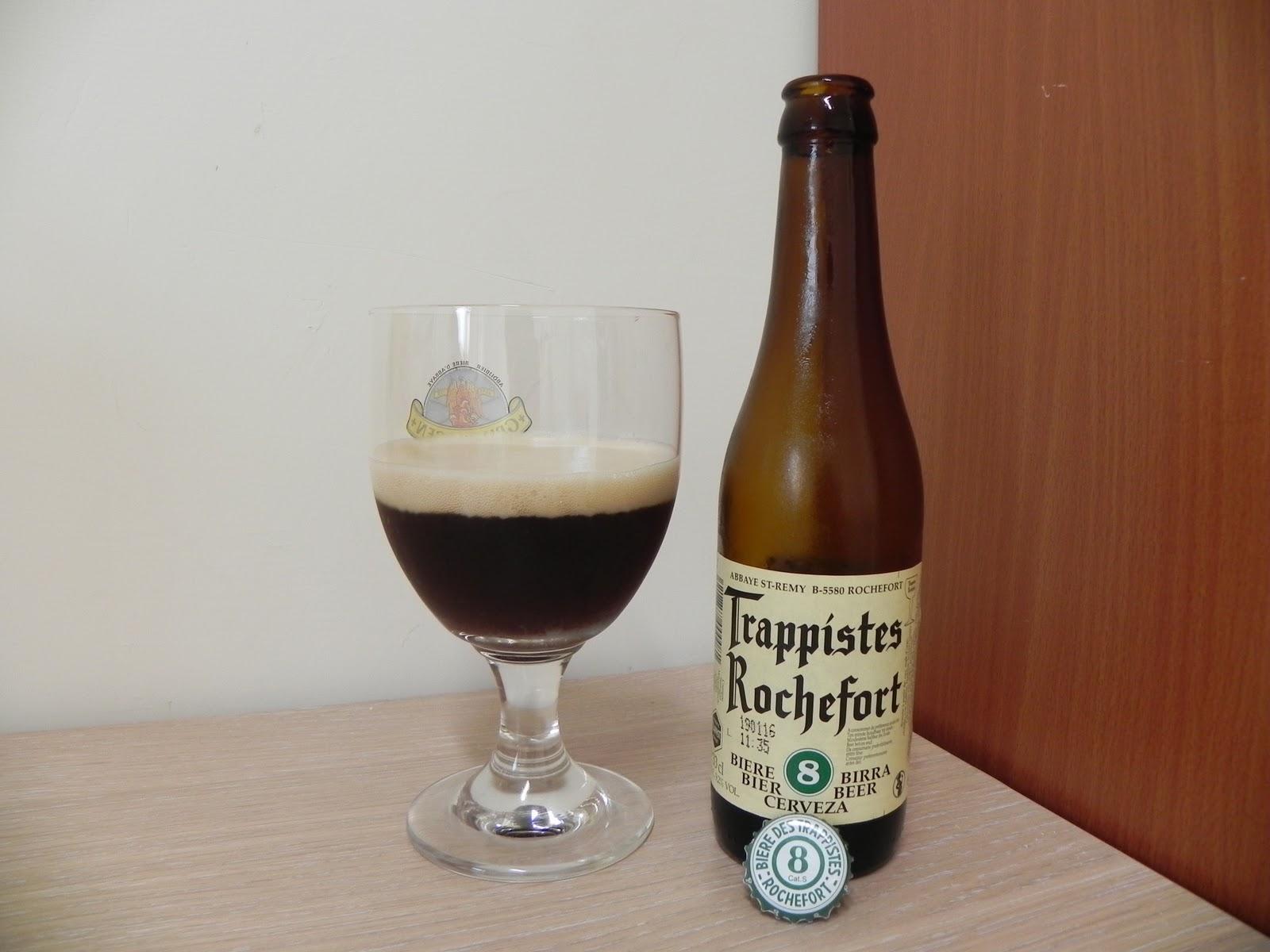 旅行的記憶: Trappistes Rochefort 8 瑞福8修道院啤酒