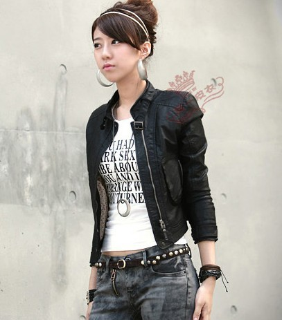 Watch more like Cute Leather Jackets For Women