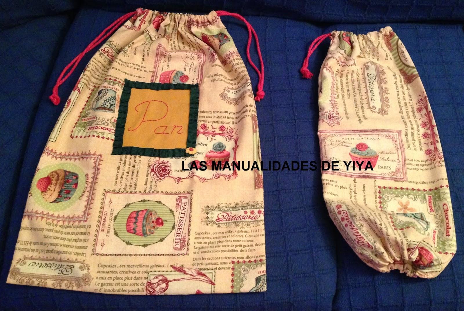 Las manualidades de yiya bolsa de tela hecha a mano para - Bolsas de tela manualidades ...