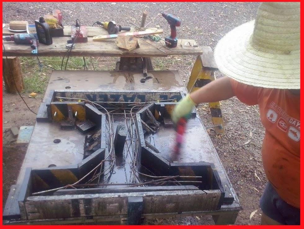 banco de jardim mesa:Pé de concreto para mesa de Jardim