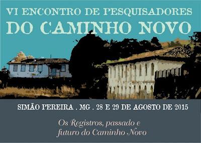 Programação do evento em Simão Pereira, MG