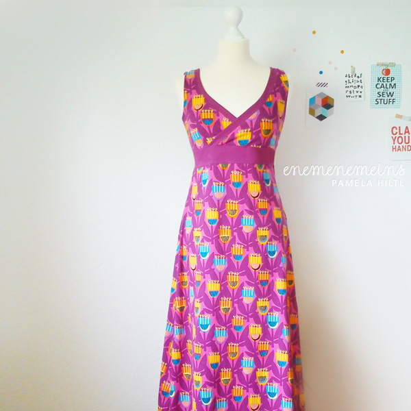 Schnittmuster langes kleid madchen