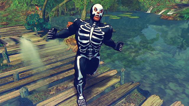 Ultra Street Fighter IV halloween