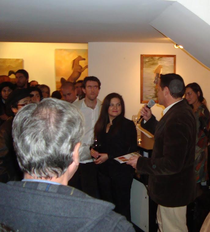 "Inauguracion Expo. ""FUSIONADOS"" en SWT Art Gallery"