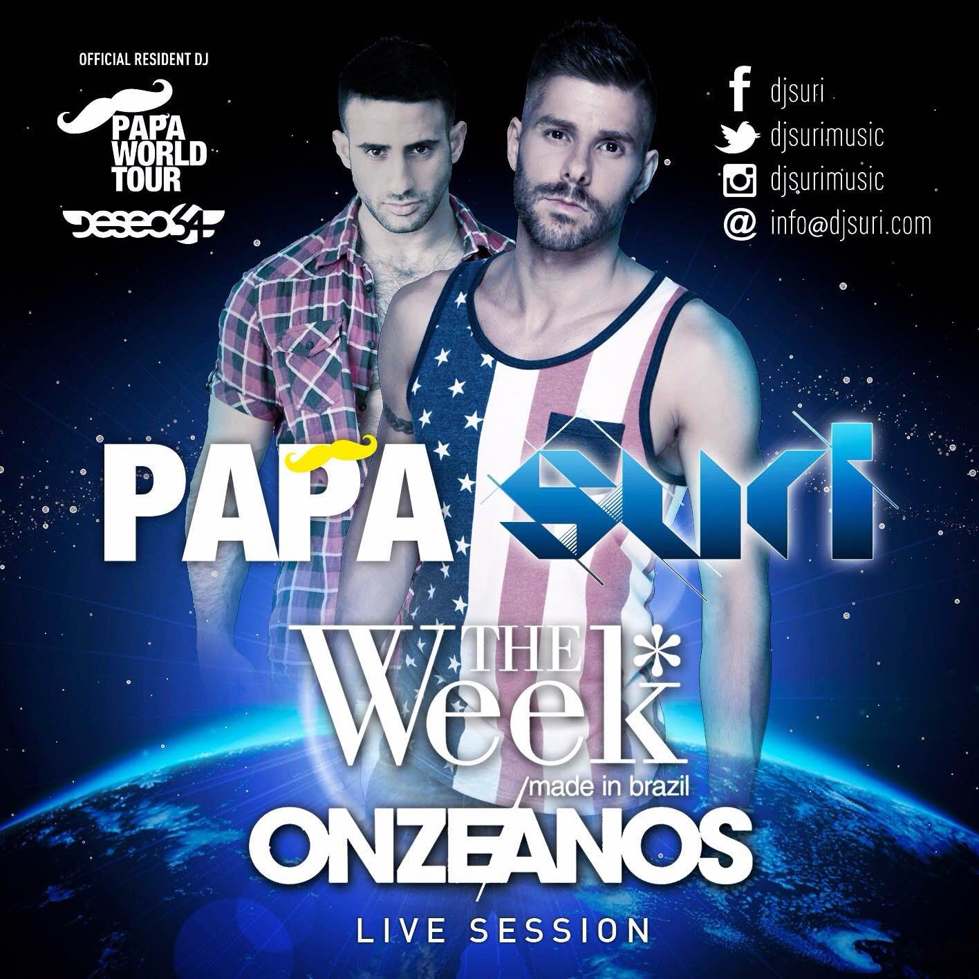 DJ Suri - Papa Live Set at The Week 11 Annyversary