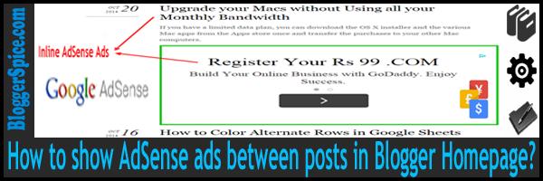 Inline ads