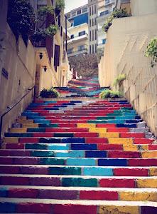 ARTE NAS CALÇADAS DO LIBANO, BEIRUTE