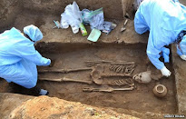Ancient skeletons found in India