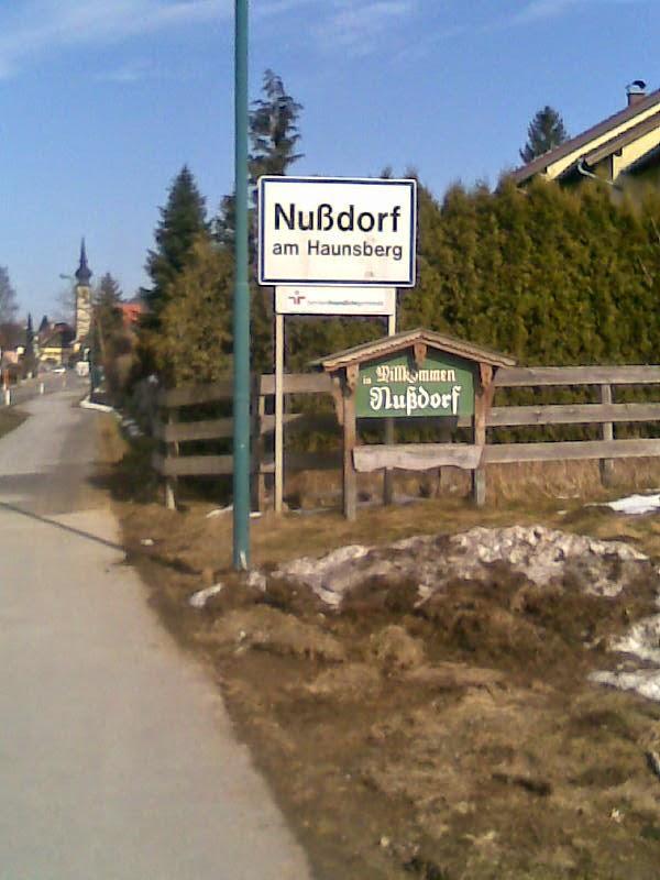 Intrare în Nussdorf am Haunsberg