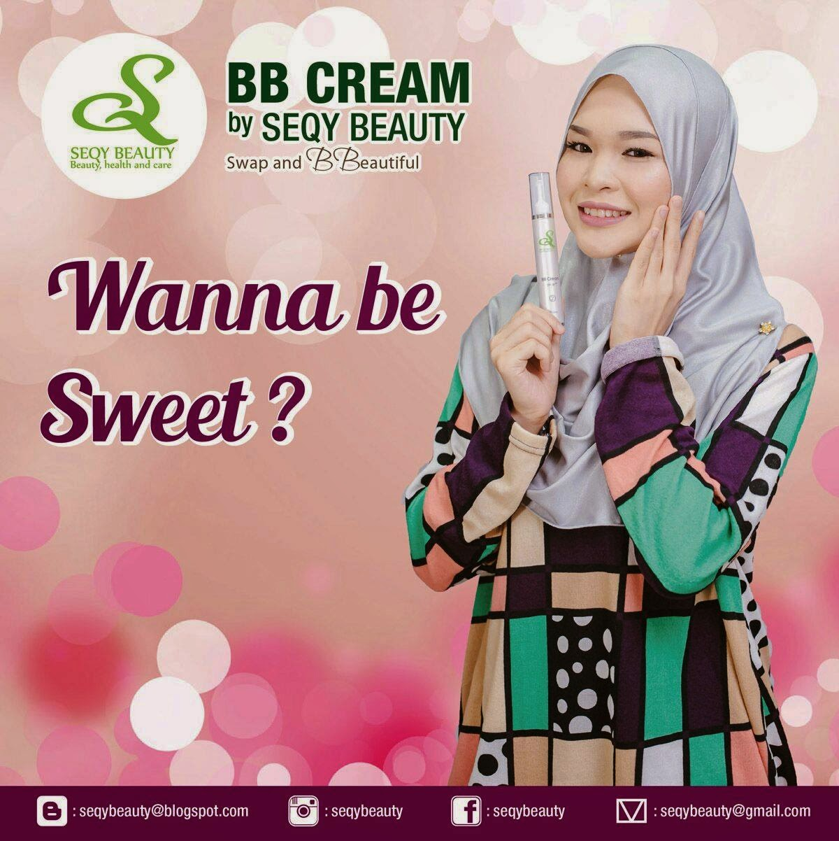 BB Cream dan Cleanser Seqy Beauty yang ohsem