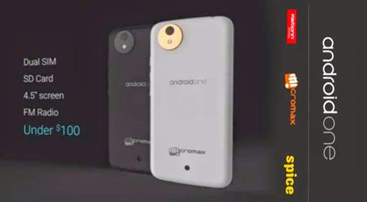 Android One ucuz akıllı telefon