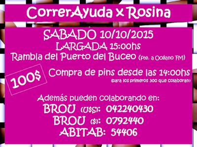 5k Correr ayuda x Rosina (rambla del Puerto de Buceo, 10/oct/2015)