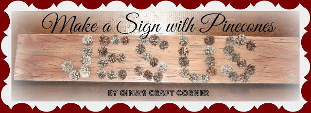 Pinecone Sign