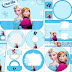 Frozen Navidad Azul: Etiquetas para Candy Bar para Imprimir Gratis.
