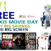 Maxis Movie Day - Buy 1, Get 1 Free Movie Ticket with iPad, iPhone, and Android