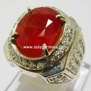 Batu permata Orange Sapphire -  07K01