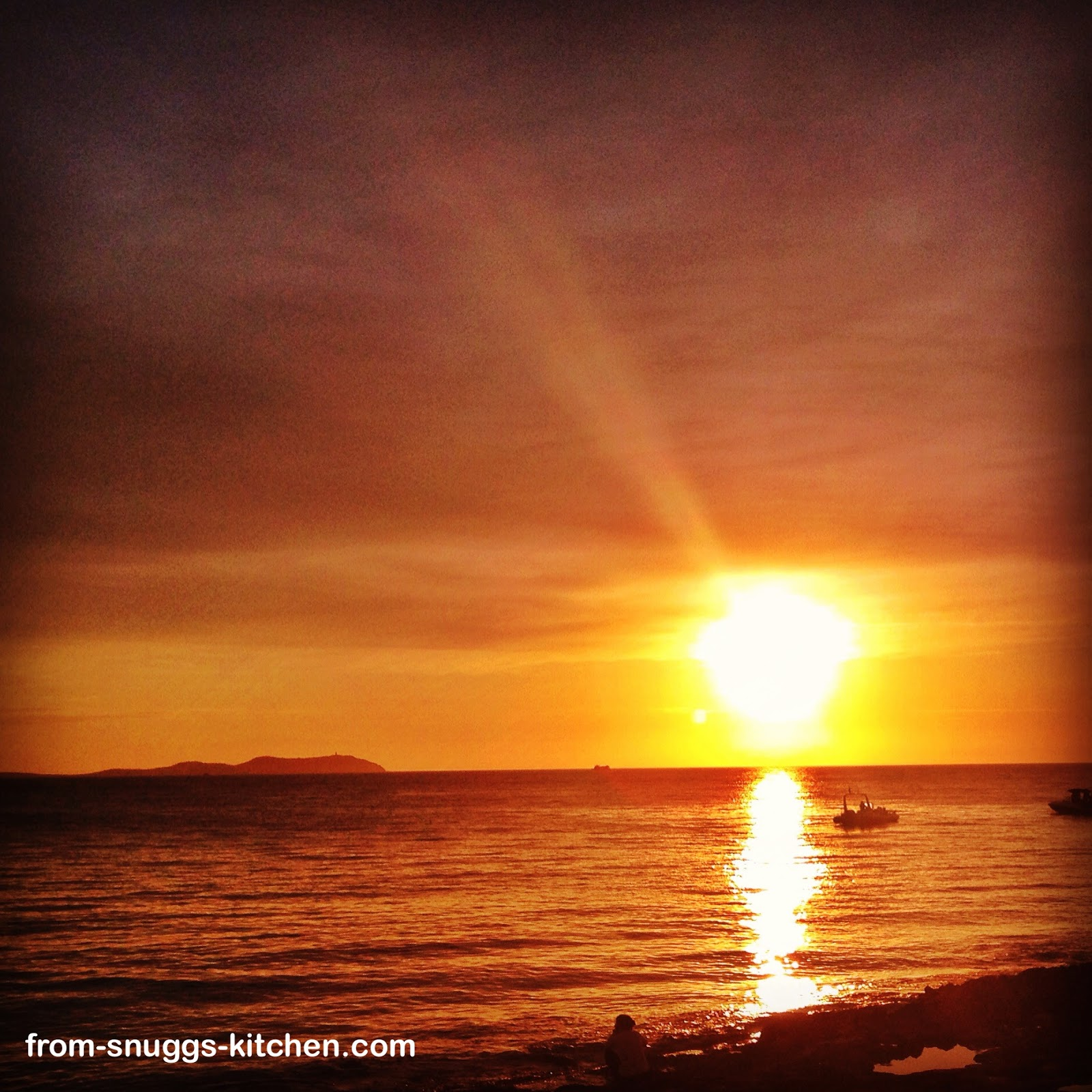 Sonnenuntergang Sant Antoni, Ibiza