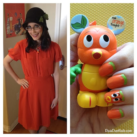 DisneyBound Orange Bird Outfit