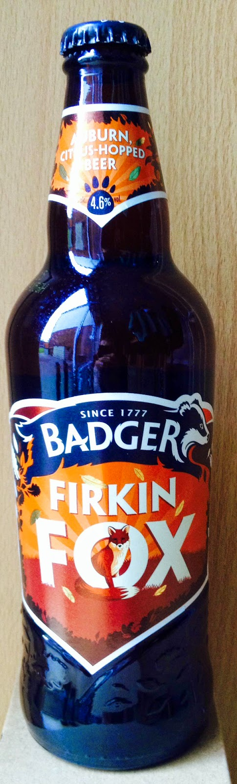 Firkin Fox (Badger)