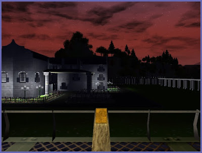 Night View of RCT3 Colonial Structure