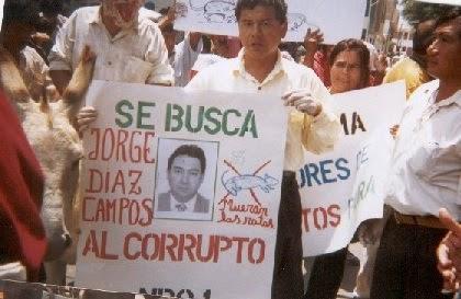 MAS DE DOCE AÑOS LUCHANDO CONTRA LA CORRUPCIÓN SIN NECESIDAD DE LA AYUDA HUMANITARIA INTERNACIONAL