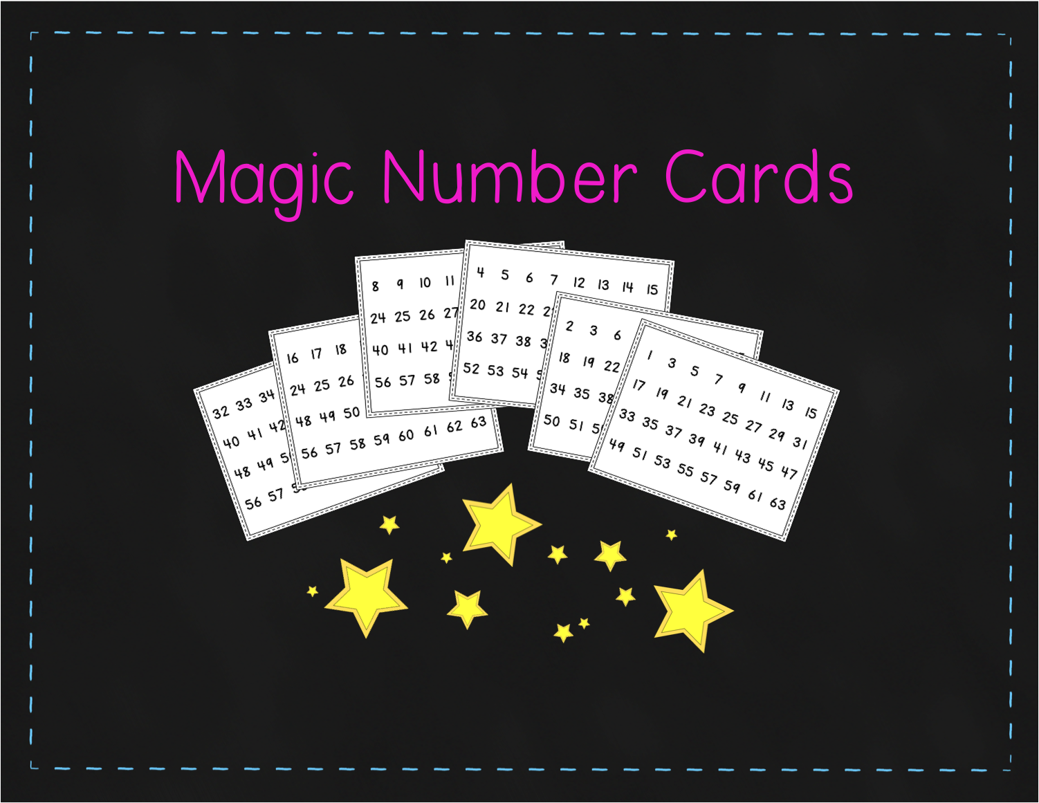 http://www.teacherspayteachers.com/Product/Freebie-Magic-Number-Cards-1192404
