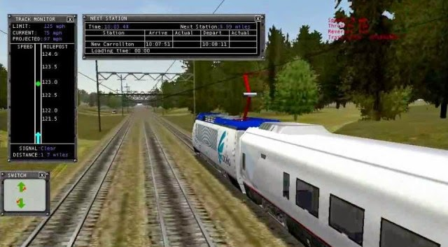 Microsoft Train Simulator PC Games
