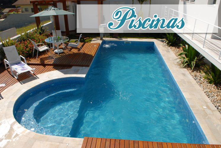 Piscinas veja 30 modelos e dicas para decorar sua rea - Fotos de casas con piscinas pequenas ...
