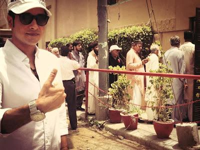 Faysal Qureshi - Pakistan Celebrities voted for Pakistan