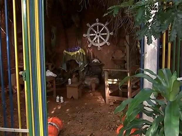 Projeto prevê a proibição do sacrifício de animais em rituais do candomblé (Foto: Reprodução / TV TEM)