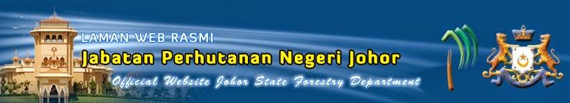 Laman Website Jabatan Perhutanan Johor