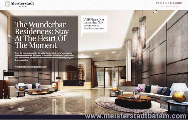 Apartemen Meisterstadt Batam - Wunderbar Residences Lobby Design