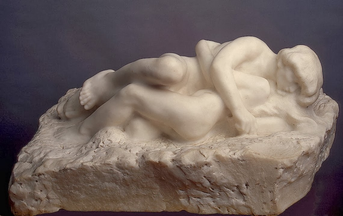 Auguste Rodin - Cupid and Psyche, 1905