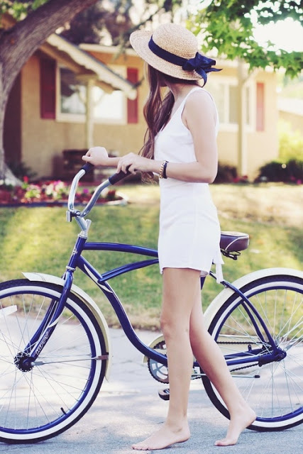 summer and bikes