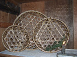 SET OF 3 SHAKER CHEESE BASKETS