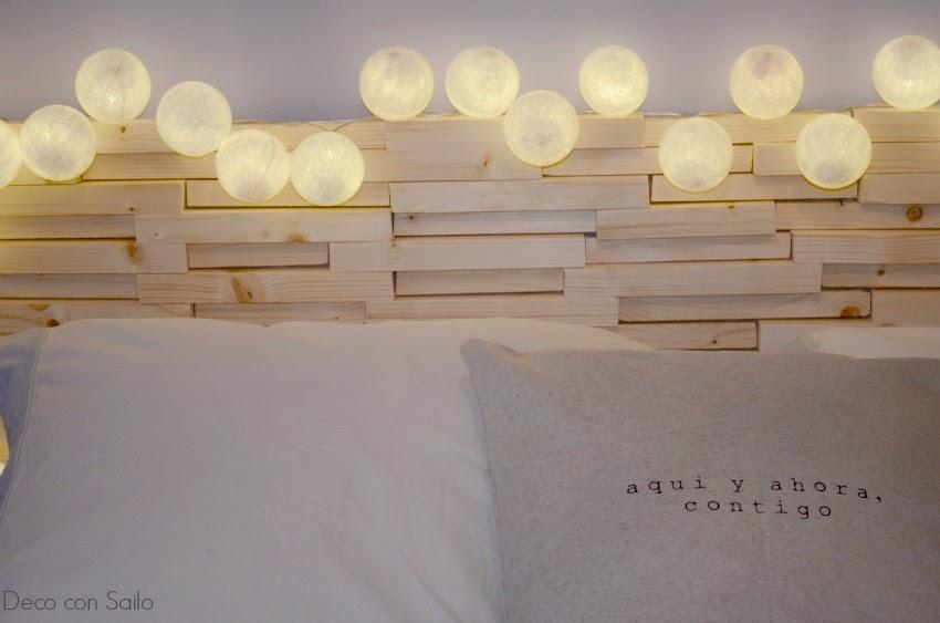 Uno de mis diy cabecero para cama blog de decoraci n - Listones de madera baratos ...