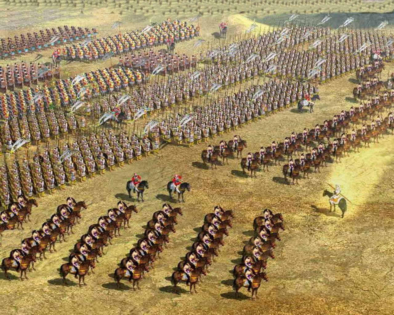 Alexandre o Grande Filme Wallpaper Alexandre e Seu Exército