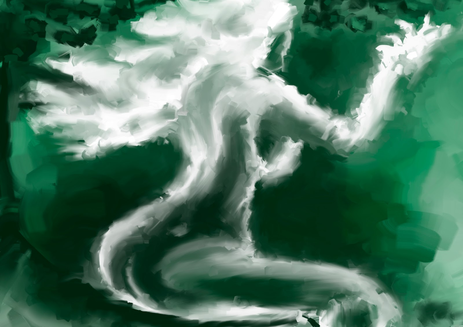 Croquis  / speed painting Mothernature