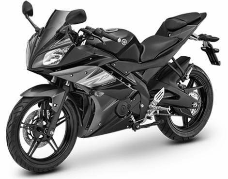 Yamaha R15 Midnight Black