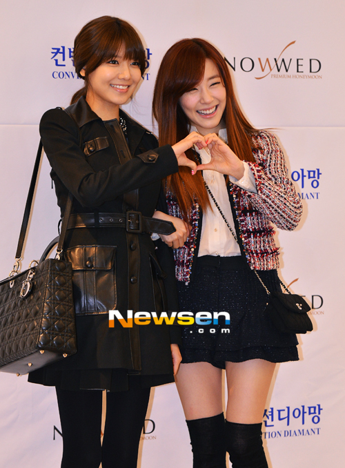 Sooyoung dan Tiffany SNSD Hadir di Pernikahan Hong Rok-gi 06