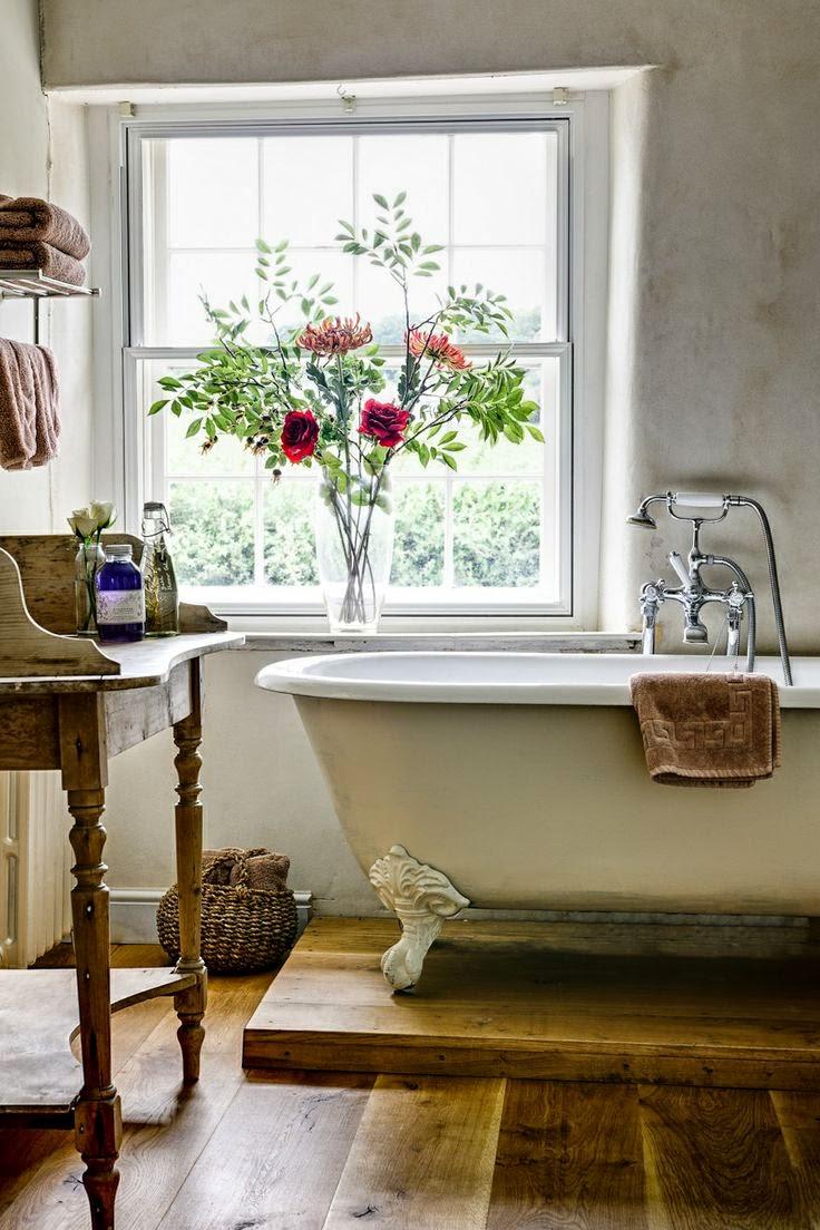 La fabrique à déco: une salle de bain à l'esprit vintage