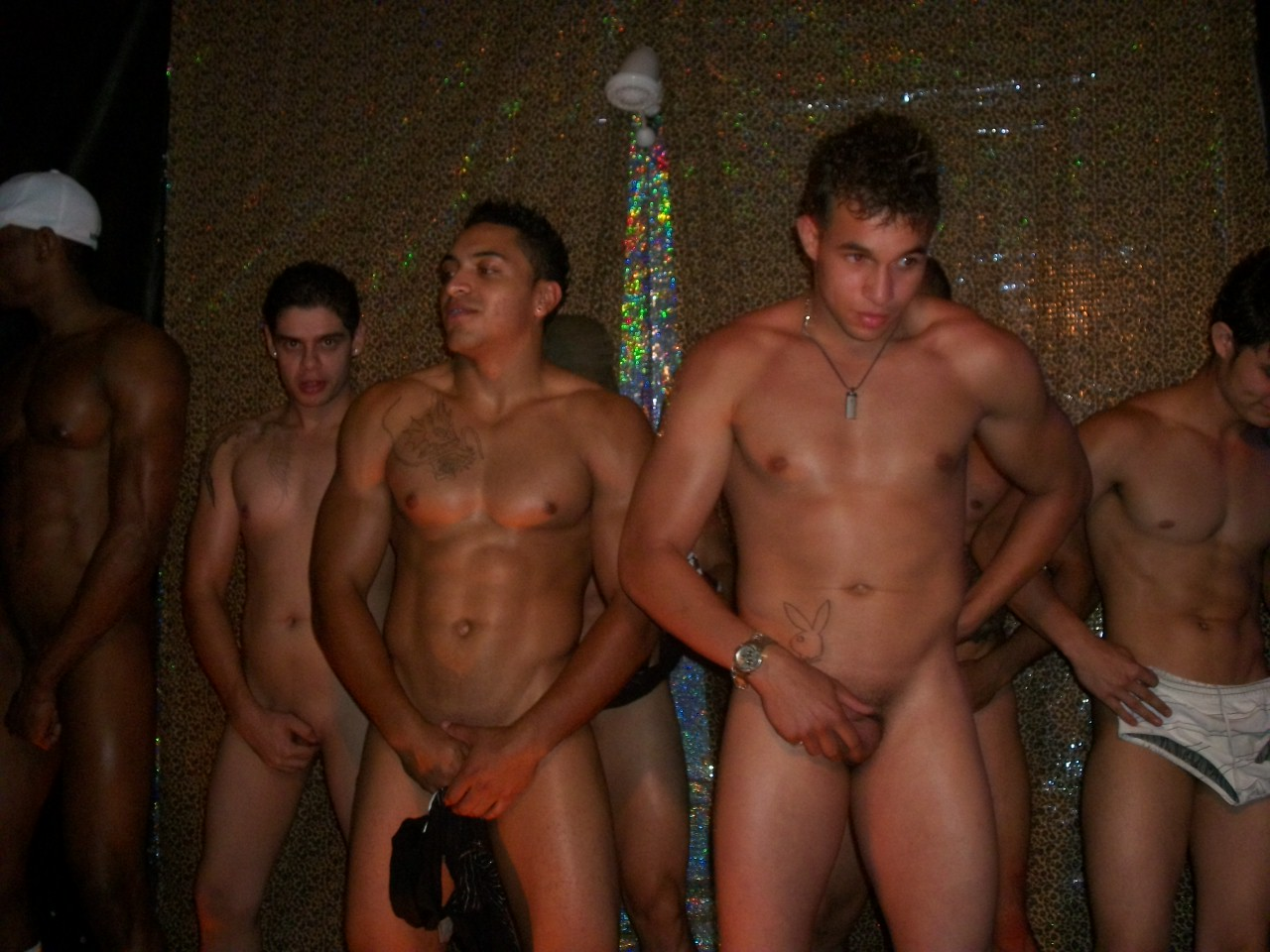 Male fully nude strip club