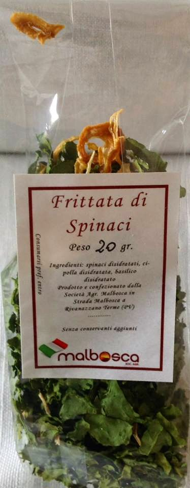Frittata pronta di spinaci