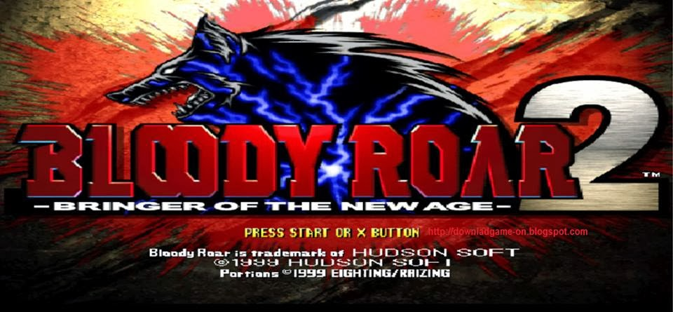 bloody roar 2, game fighting